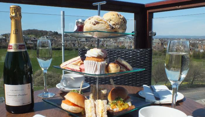 Champagne Afternoon Tea at Braid Hills Hotel