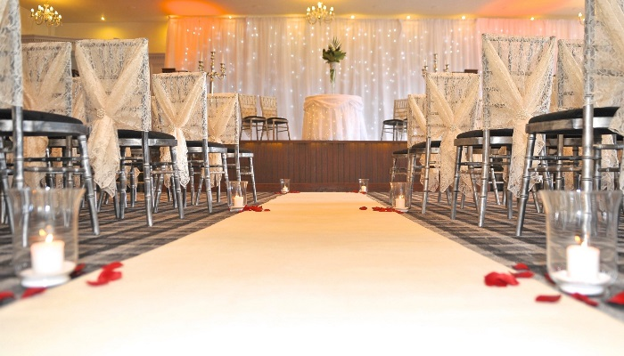 Braid Suite Civil Ceremonies for up to 120 guests
