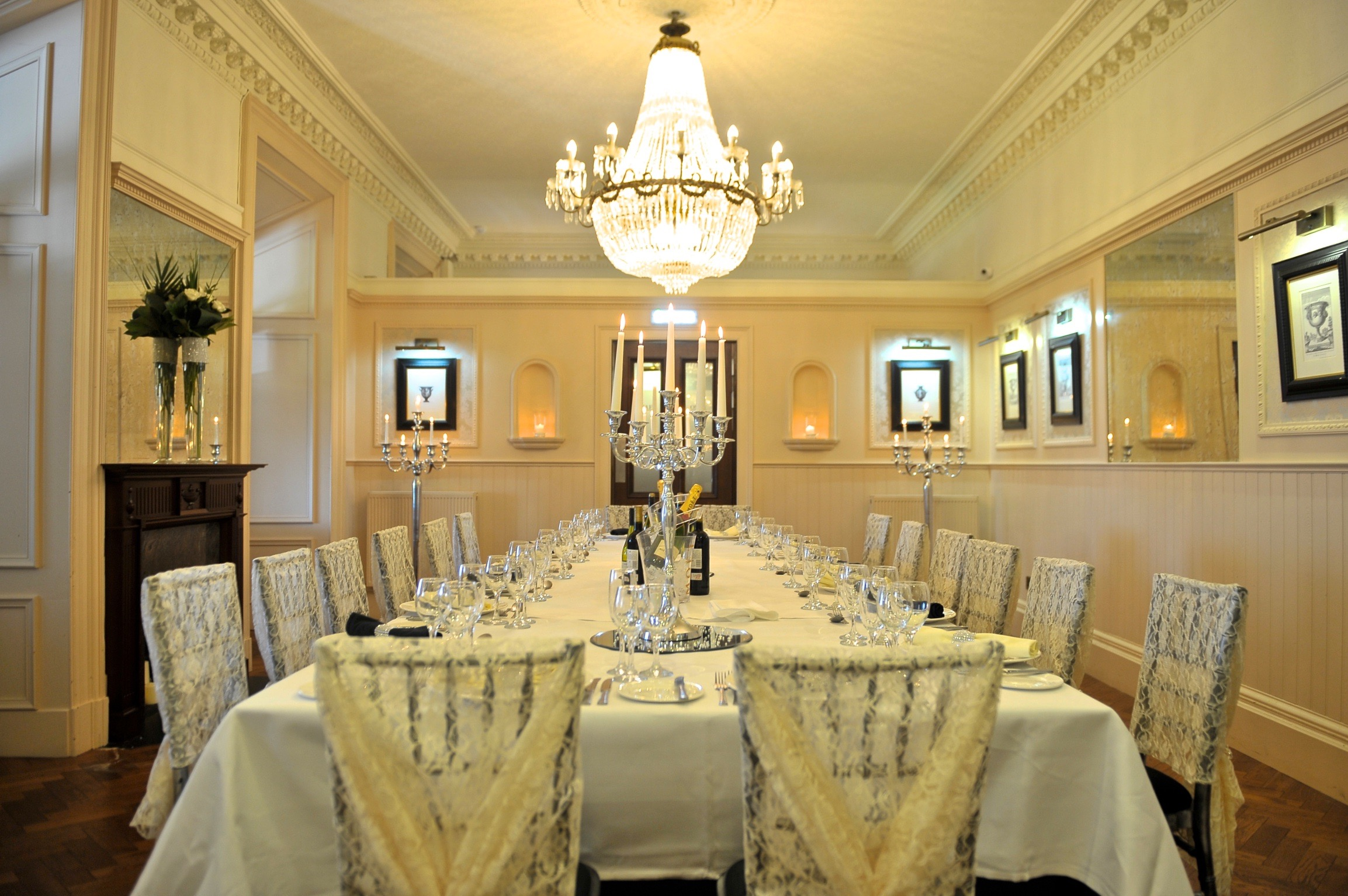 Regent suite for Best private dining rooms edinburgh