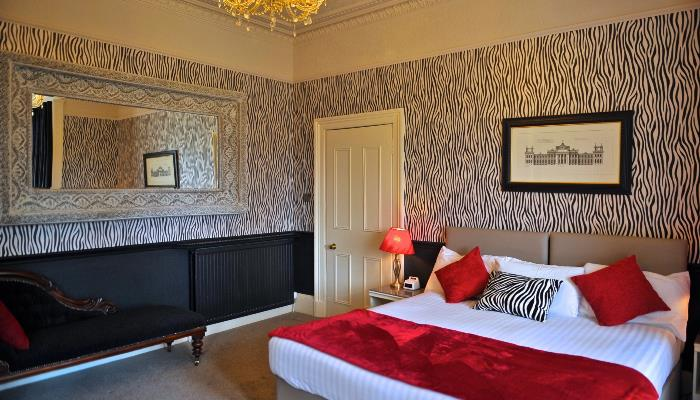 Individually designed bedrooms