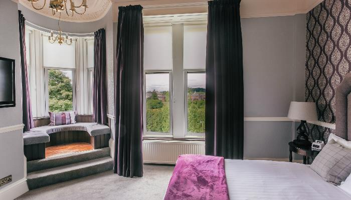 Views of Braidburn Valley Park from Signature bedroom 216